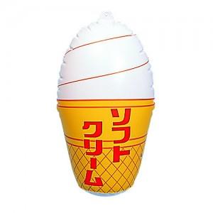 風船 ソフトクリーム